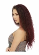 Long Natural Curl Heat Safe 3/4 Wig Lush inset 1
