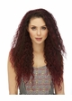 Long Natural Curl Heat Safe 3/4 Wig Lush inset 2