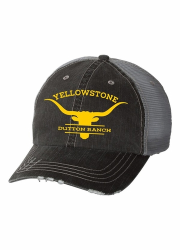 Longhorn Yellowstone Dutton Ranch Trucker Hat