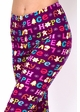 Love and Peace Holiday Cookie Peach Skin Leggings inset 2