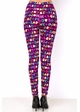 Love and Peace Holiday Cookie Peach Skin Leggings inset 3