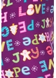 Love and Peace Holiday Cookie Peach Skin Leggings inset 1