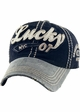 Lucky Distressed Vintage Ballcap inset 1