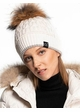 Luxe Angora and Fur Pom CC Beanie Hat inset 1