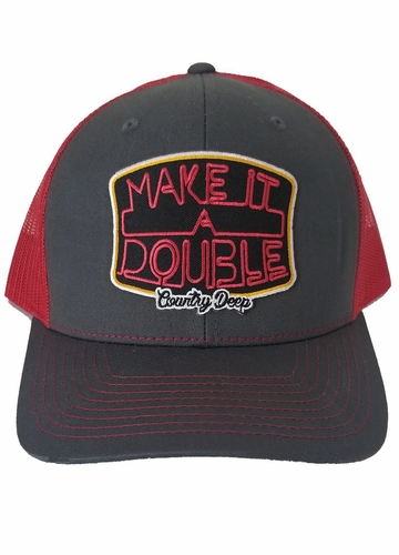 Make It A Double Country Deep Trucker Hat