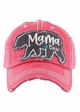Mama Bear Heart Baseball Hat inset 2