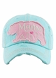 Mama Bear Heart Baseball Hat inset 3