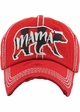 Limited Edition Mama Bear Plaid Holiday Baseball Hat inset 2