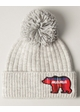 MAMA BEAR Soft Ribbed Beanie Hat with Pom inset 3