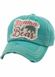 Mama Bear Vintage Patch Baseball Hat inset 1