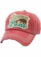 Mama Bear Vintage Patch Baseball Hat inset 2