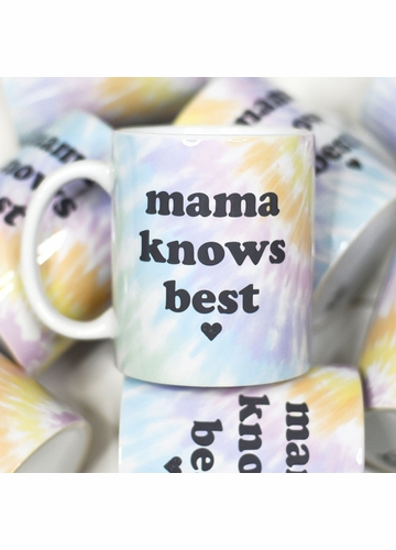 Mama Knows Best Mother's Day Ceramic Mug