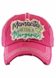 MAMACITA NEEDS A MARGARITA Washed Vintage Baseball Hat inset 4