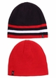 Men's Solid Stripe Reversible CC Beanie Hat inset 1