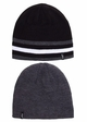 Men's Solid Stripe Reversible CC Beanie Hat inset 3