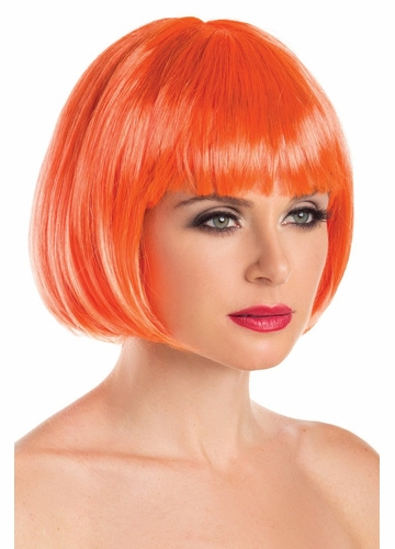 Mini Bob Wig Eve in Orange