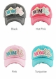 MOM LIFE Washed Vintage Baseball Cap inset 1