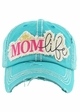 MOM LIFE Washed Vintage Baseball Cap inset 2