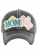 MOM LIFE Washed Vintage Baseball Cap inset 4