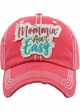 Mommin' Ain't Easy Washed Vintage Ballcap inset 1