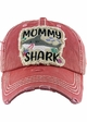 Mommy Shark Vintage Patch Baseball Hat inset 2
