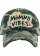 MOMMY VIBES Washed Vintage Ballcap inset 4