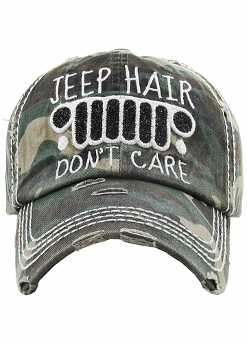 More Colors of JEEP HAIR DON'T CARE Hat