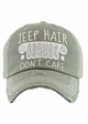 More Colors of JEEP HAIR DON'T CARE Hat inset 2