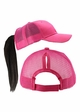 More Ponytail Trucker Hat with Mesh Back inset 1