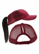 More Ponytail Trucker Hat with Mesh Back inset 2