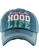 Motherhood Life Washed Vintage Distressed Baseball Cap inset 2