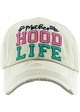 Motherhood Life Washed Vintage Distressed Baseball Cap inset 3