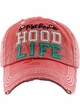Motherhood Life Washed Vintage Distressed Baseball Cap inset 4