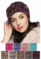 Multi Color Knit CC Headband