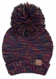 Multi Color Oversized Slouchy Beanie with Pom Pom inset 3