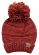 Multi Color Oversized Slouchy Beanie with Pom Pom inset 4