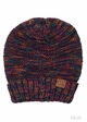 Multi Color Oversized Slouchy CC Beanie Hat inset 2