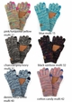 Multi Color Smart Tip CC Gloves with Lining inset 1