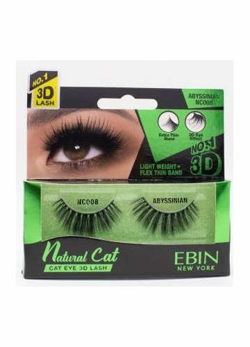 Natural Cat Eye Lashes - Abyssian