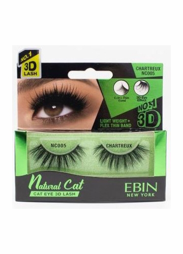 Natural Cat Eye Lashes - Chartreux