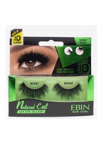 Natural Cat Eye Lashes - Korat