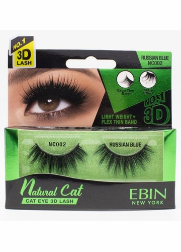 Natural Cat Eye Lashes - Russian Blue