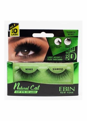 Natural Cat Eye Lashes - Siamese