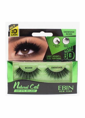 Natural Cat Eye Lashes - Snowshoe