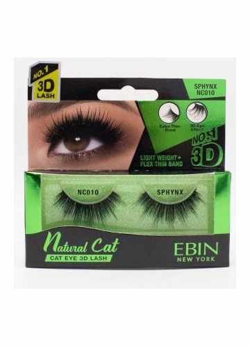 Natural Cat Eye Lashes - Sphinx