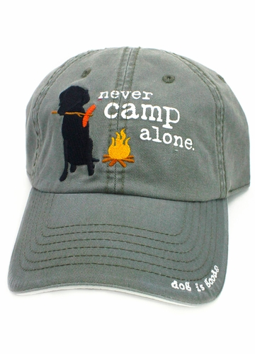Never Camp Alone Hat