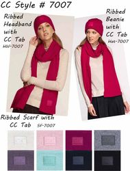 CC Collection #7007 Ribbed Knitwear with CC Tab