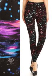 Stars and Galaxy Leggings