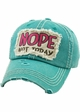 NOPE NOT TODAY Baseball Hat inset 1