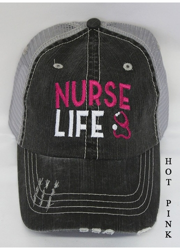 Nurse Life Trucker Hat